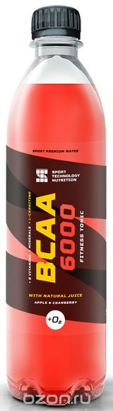 "BCAA Sport Technology Nutrition ""6000"", ¤блоко, клюква, 500 мл"